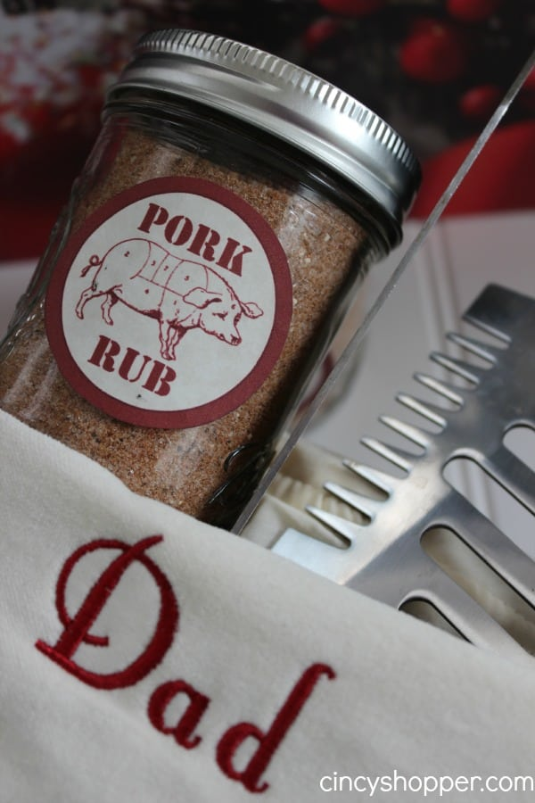 Pork rub | 25+ more mason jar gift ideas