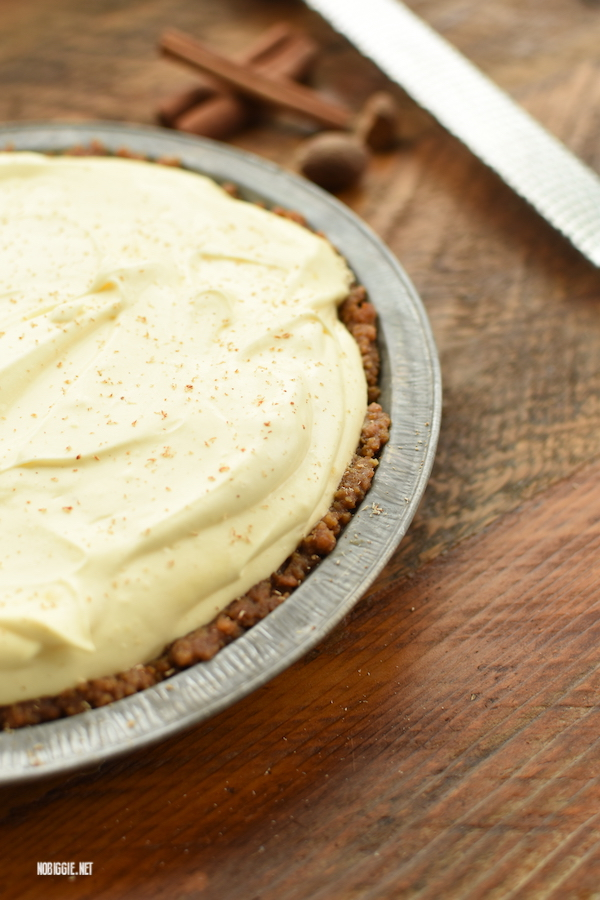 eggnog cream pie | NoBiggie.net