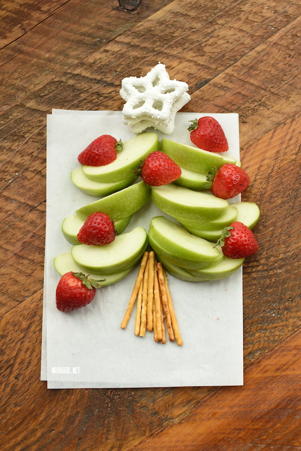 Fruit Christmas Tree for kids