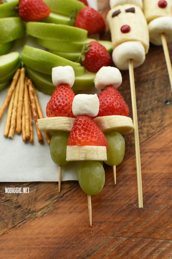Grinch Party Healthy Snacks | NoBiggie.net