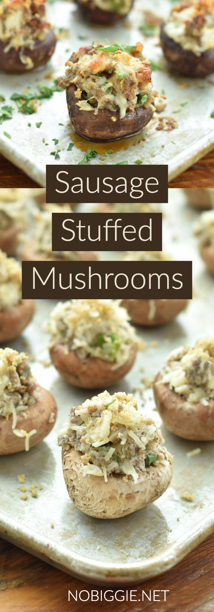 stuffed mushrooms | NoBiggie.net