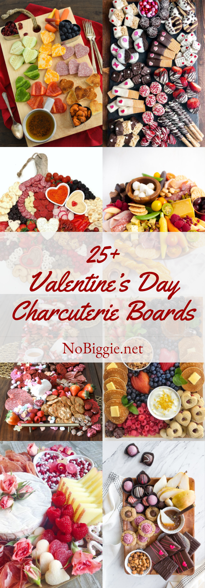 Valentine's Day Charcuterie Boards