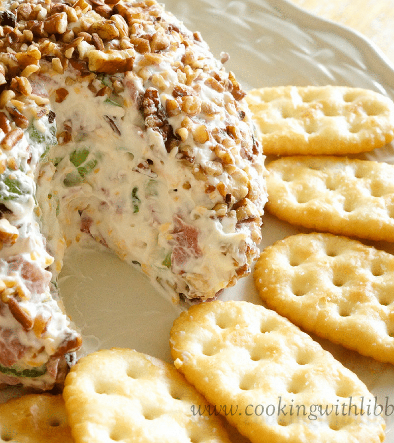Cheeseball dip | 25+ MORE Easy No Cook Appetizers