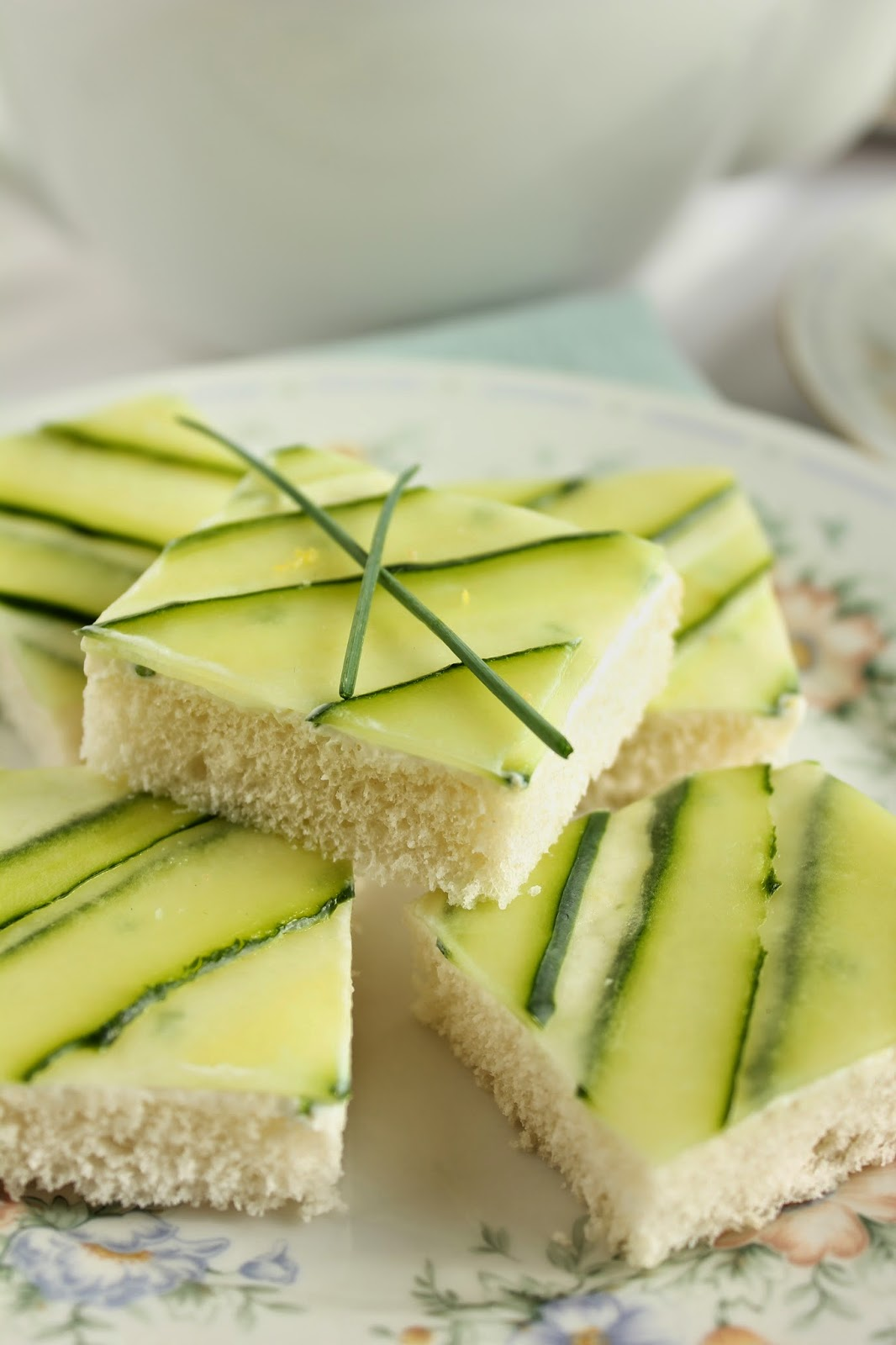 Cucumber Tea Sandwiches | 25+ MORE Easy No Cook Appetizers