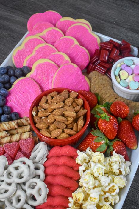 Galentine Dessert Board   25+ Valentine's Day Charcuterie Boards