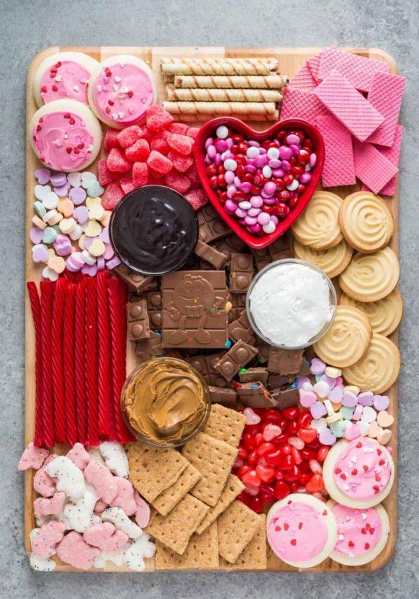 Galentine's Day Charcuterie Board   25+ Valentine's Day Charcuterie Boards