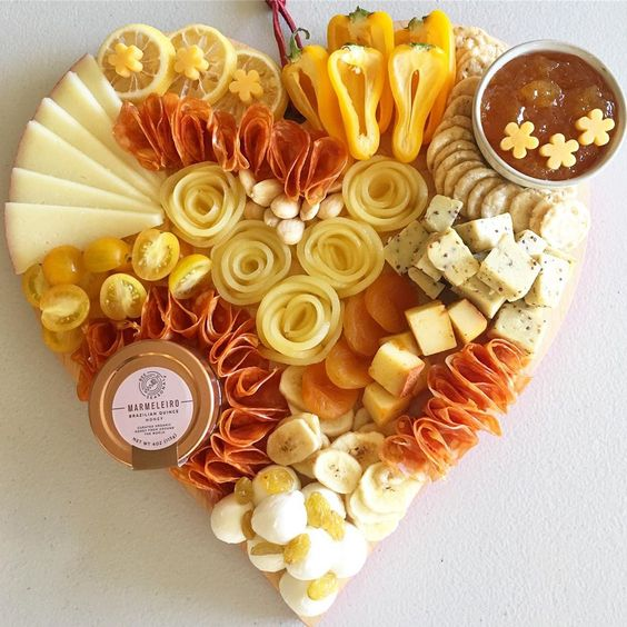 Love Platter | 25+ Valentine's Day Charcuterie Boards