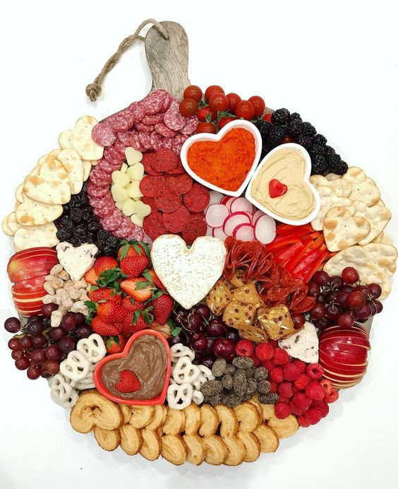 Love is Patient Board | 25+ Valentine's Day Charcuterie Boards