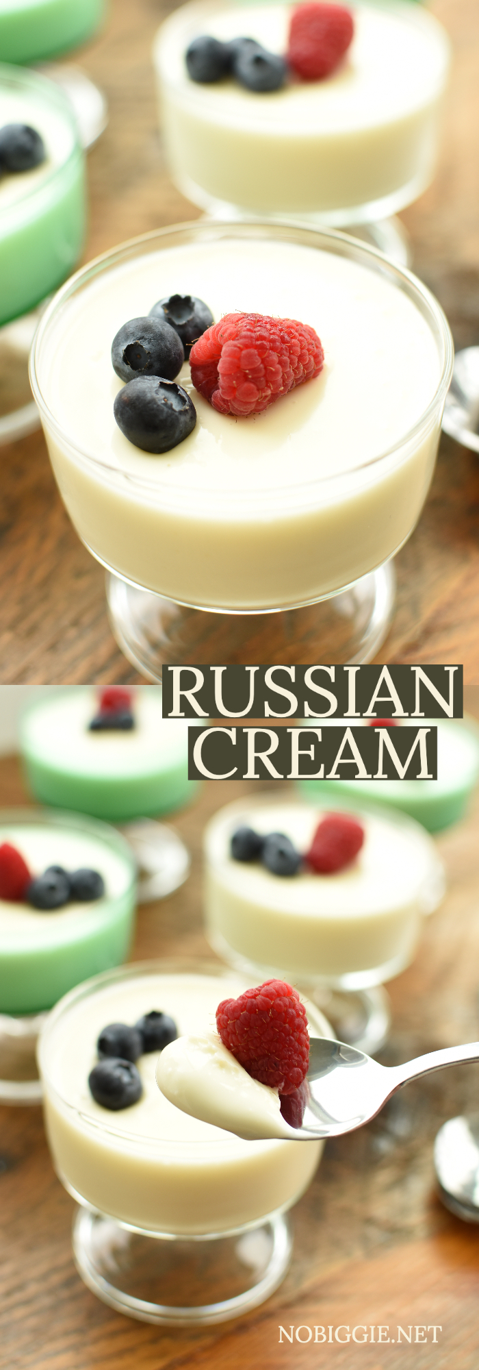 Russian cream dessert | NoBiggie.net