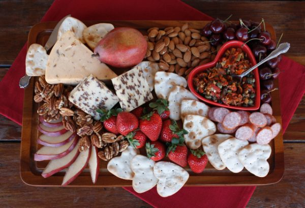 Valentine Cheese Board | 25+ Valentine's Day Charcuterie Boards