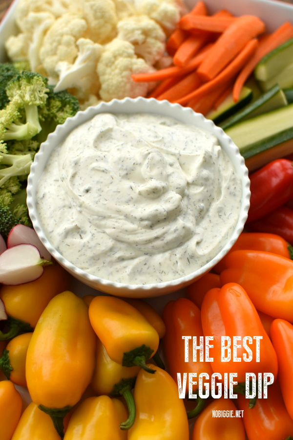 Veggie Dip | 25+ MORE Easy No Cook Appetizers