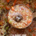 alphabet meatball soup | NoBiggie.net