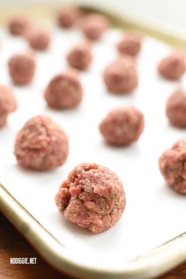 easy meatballs | NoBiggie.net