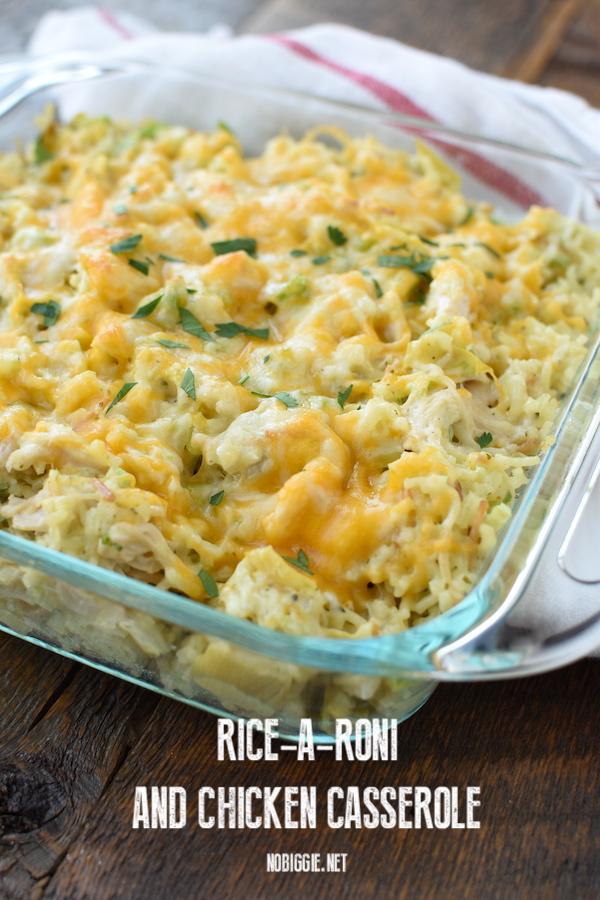 Chicken Rice a Roni casserole | NoBiggie.net