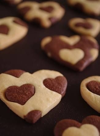 Heart Cut out cookies | 25+ MORE Heart Shaped Food