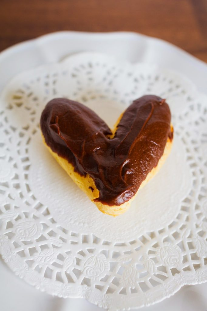 Heart Shape Eclairs | 25+ MORE Heart Shaped Food