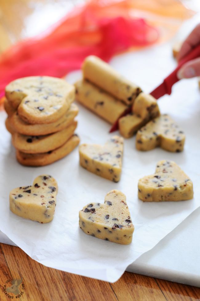 Heart Shaped cookie Dough | 25+ MORE Heart Shaped Food