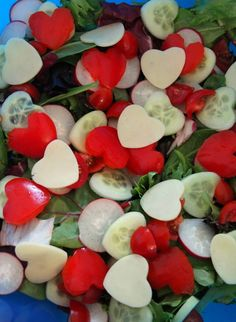 Love Salad | 25+ MORE Heart Shaped Food