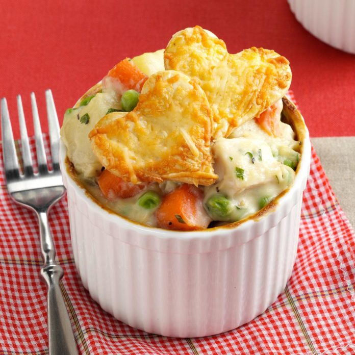Love You Pot Pie | 25+ MORE Heart Shaped Food