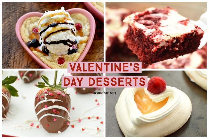 Valentine's Day Desserts   NoBiggie.net