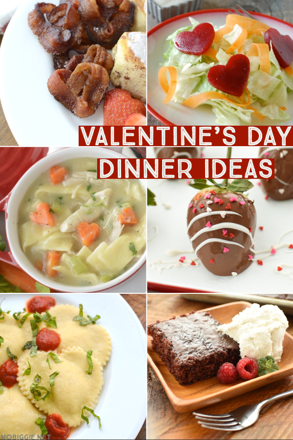 Valentine's Day Dinner Ideas | NoBiggie.net