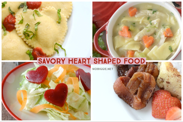 savory heart shaped food | NoBiggie.net