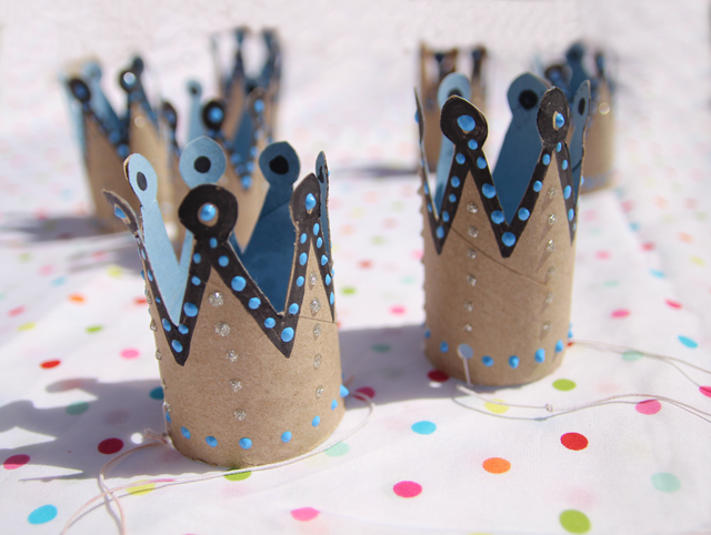 Birthday Crowns | Toilet Paper Roll Crafts