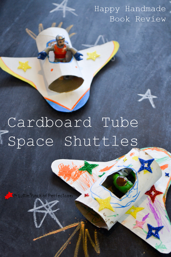 Cardboard Tube Space Shuttles | Toilet Paper Roll Crafts