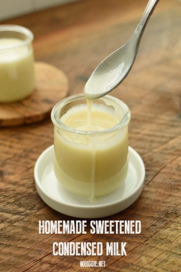 Homemade Sweetened Condensed Milk
