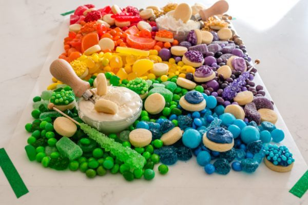 Rainbow Cookies and Treats Board | St. Patrick's Day Charcuterie Boards
