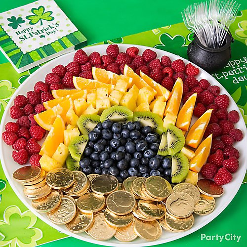 Rainbow-licious Platter   St. Patrick's Day Charcuterie Boards