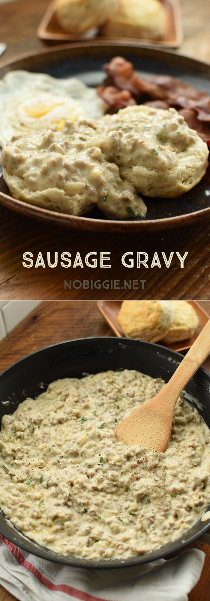 sausage gravy for biscuits and gravy | NoBiggie.net