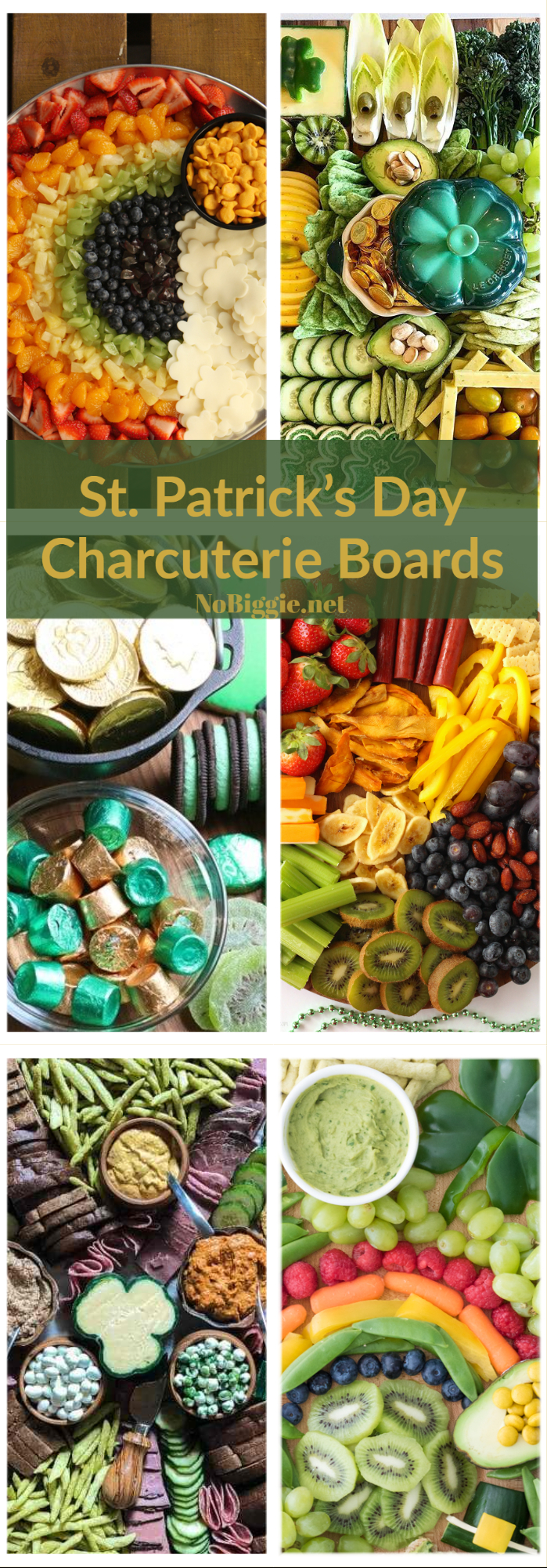 Fun and festive charcuterie boards to celebrate St. Patrick\'s Day