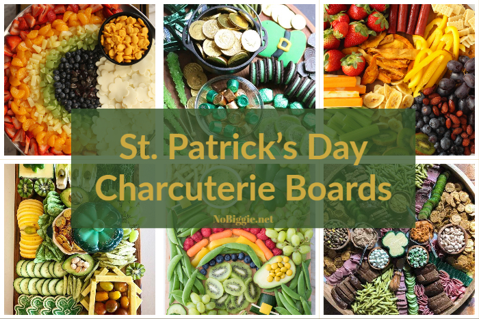 St. Patrick's Day Charcuterie Boards | NoBiggie.net