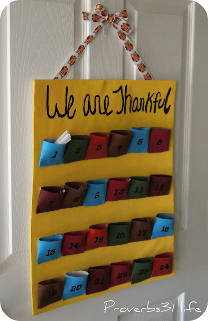 Thankful for Toilet Paper | Toilet Paper Roll Crafts