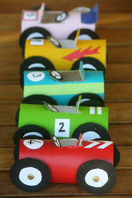 Toilet Paper Roll Cars | Toilet Paper Roll Crafts