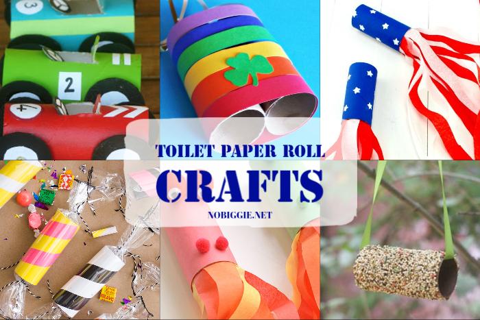 Toilet Paper Roll Crafts | NoBiggie.net