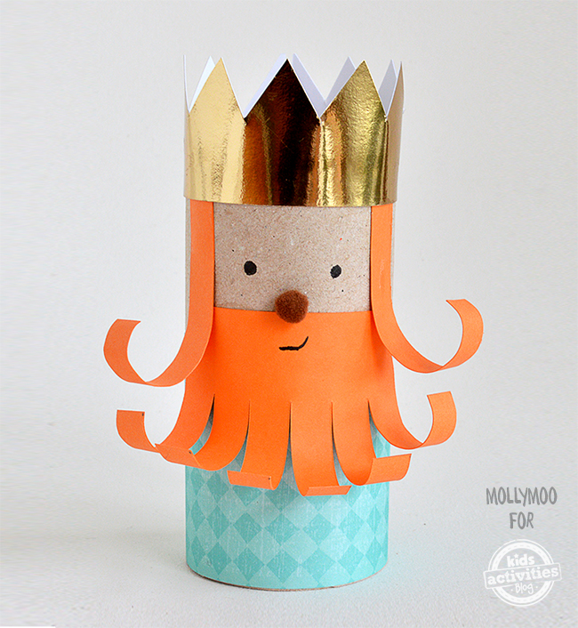 Toilet Paper Roll Leprechaun King | Toilet Paper Roll Crafts