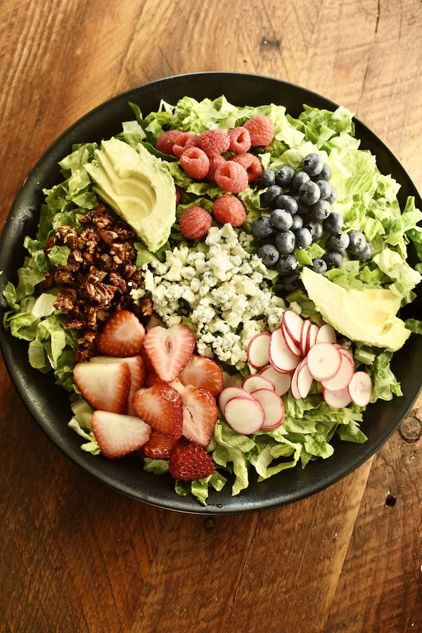 berries and nuts salad | NoBiggie.net