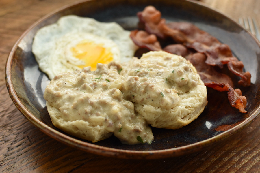 homemade sausage gravy | NoBiggie.net