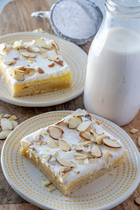 Almond Cream Cheese Bars | Cream Cheese Dessert Recipes