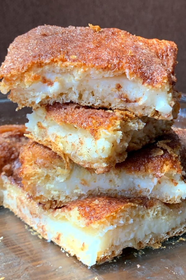 Cinnamon Cream Cheese Bars | Cream Cheese Dessert Recipes