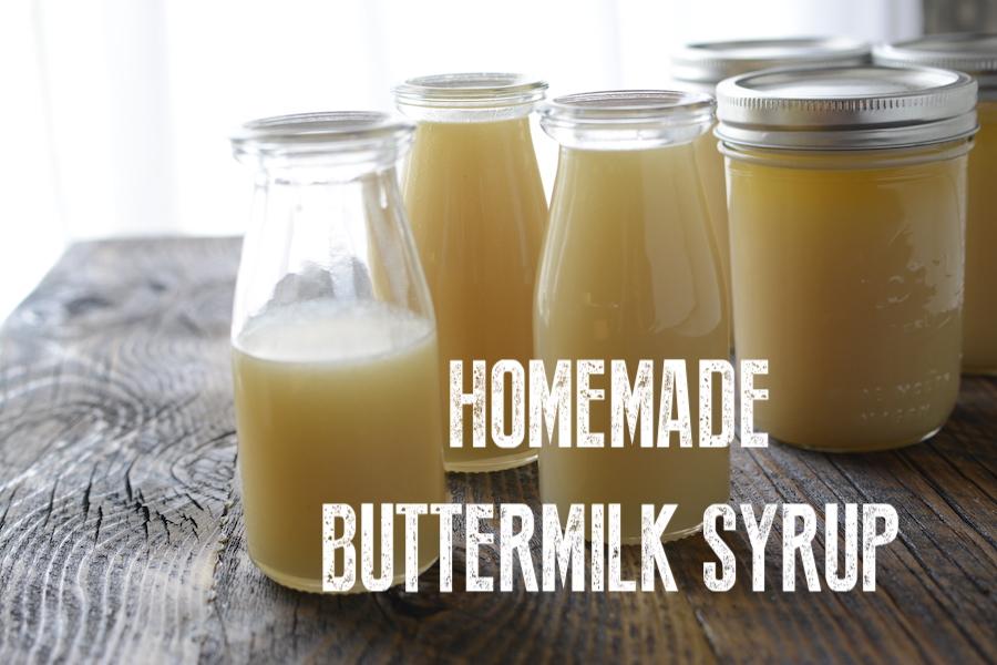 Homemade buttermilk syrup | NoBiggie.net