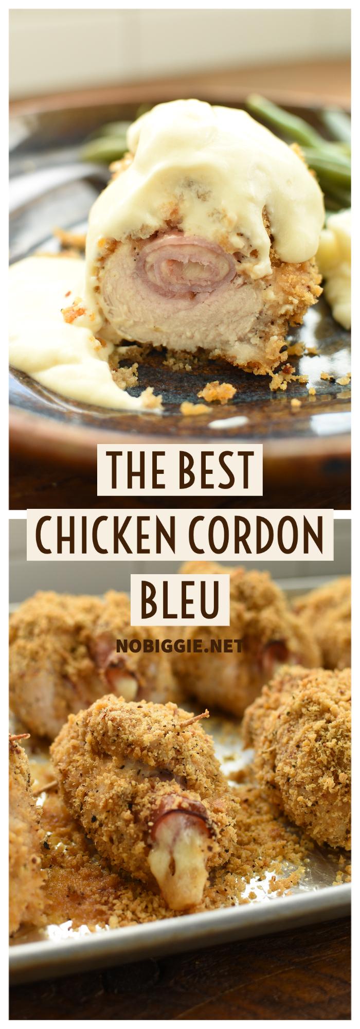 The Best Chicken Cordon Bleu | NoBiggie.net