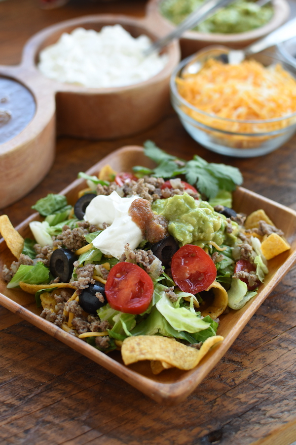 easy taco salad | NoBiggie.net