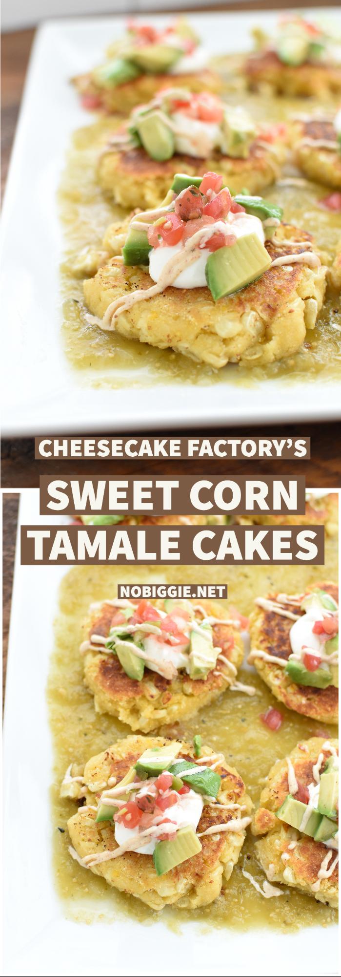 sweet corn tamale cakes | NoBiggie.net
