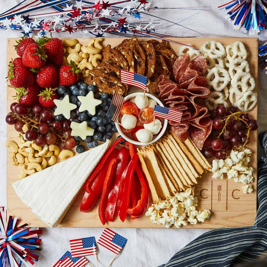 4th of July Cheese Board | Patriotic Charcuterie Boards