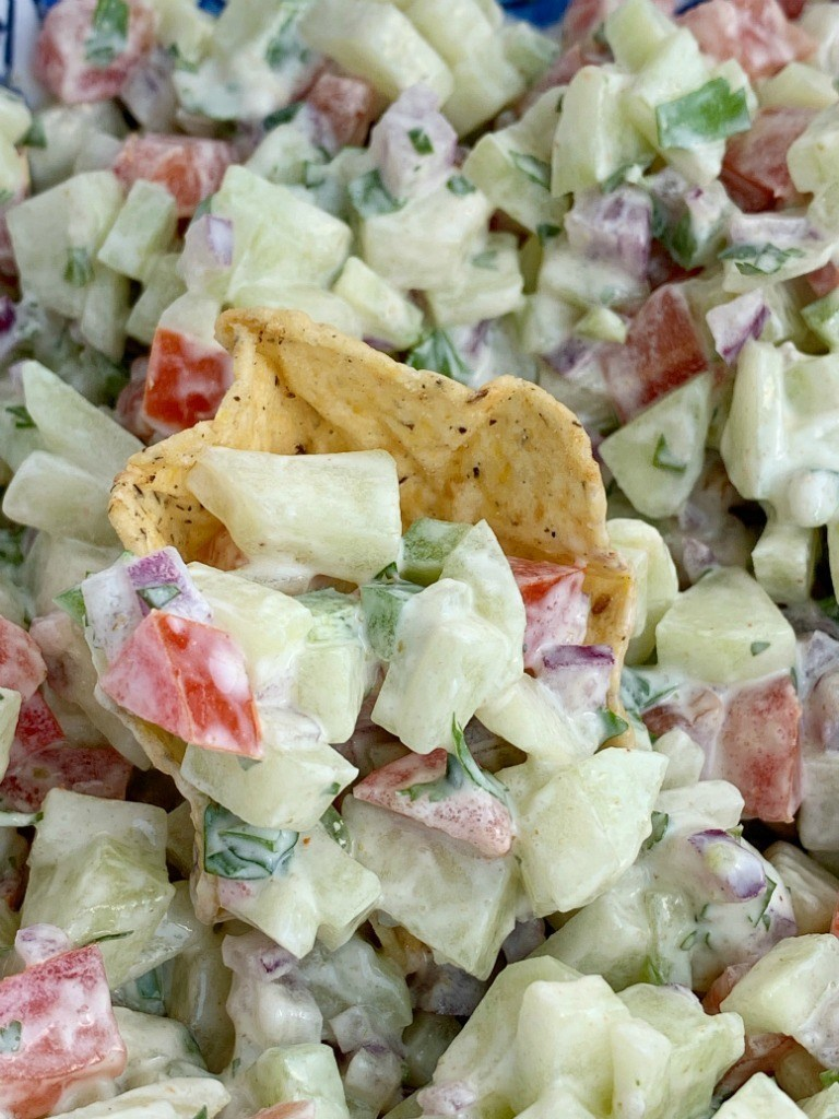 Creamy Cucumber Salsa | Salsa Recipes