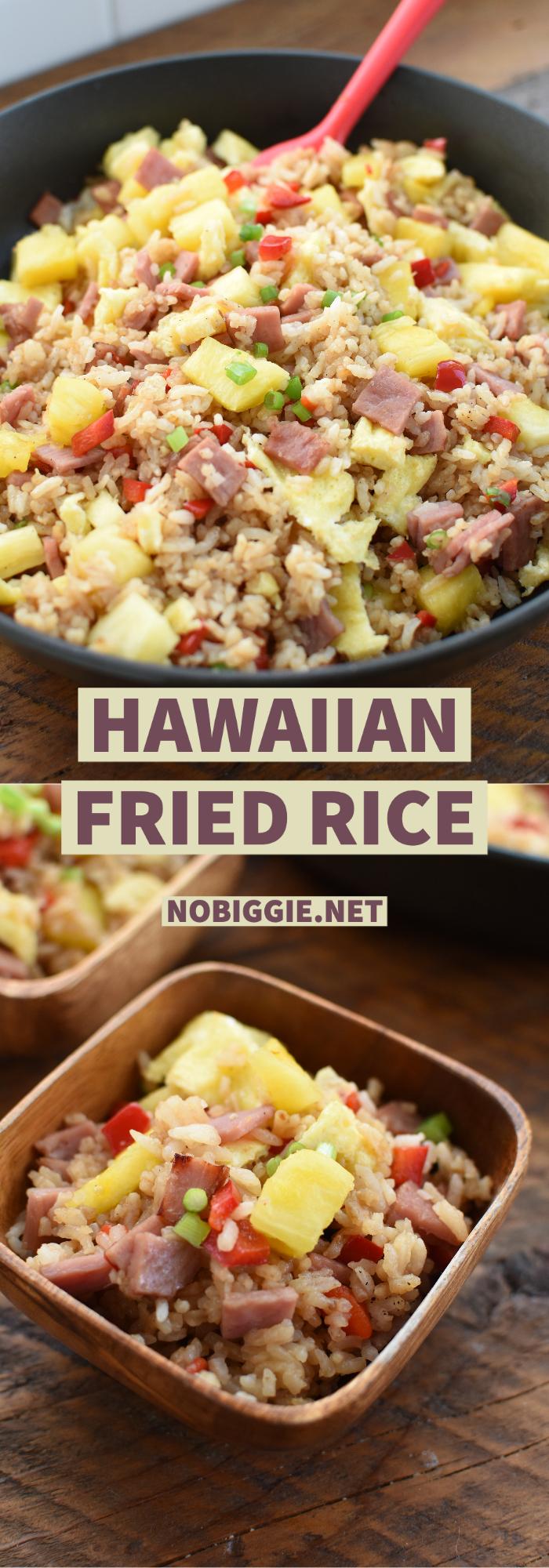 Hawaiian Fried Rice | NoBiggie.net