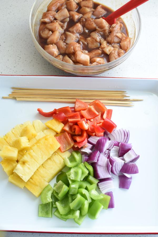 Hawaiian Party Food